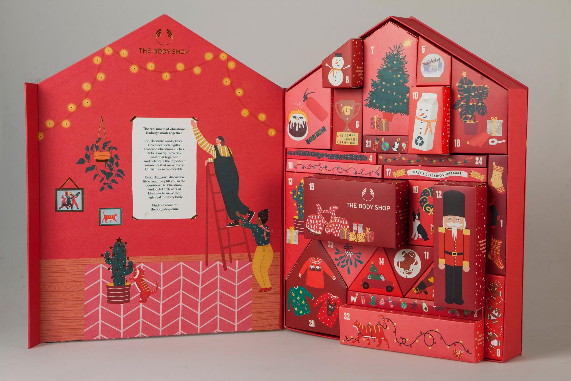 The Body Shop Nagykarácsony Adventi Kalendárium