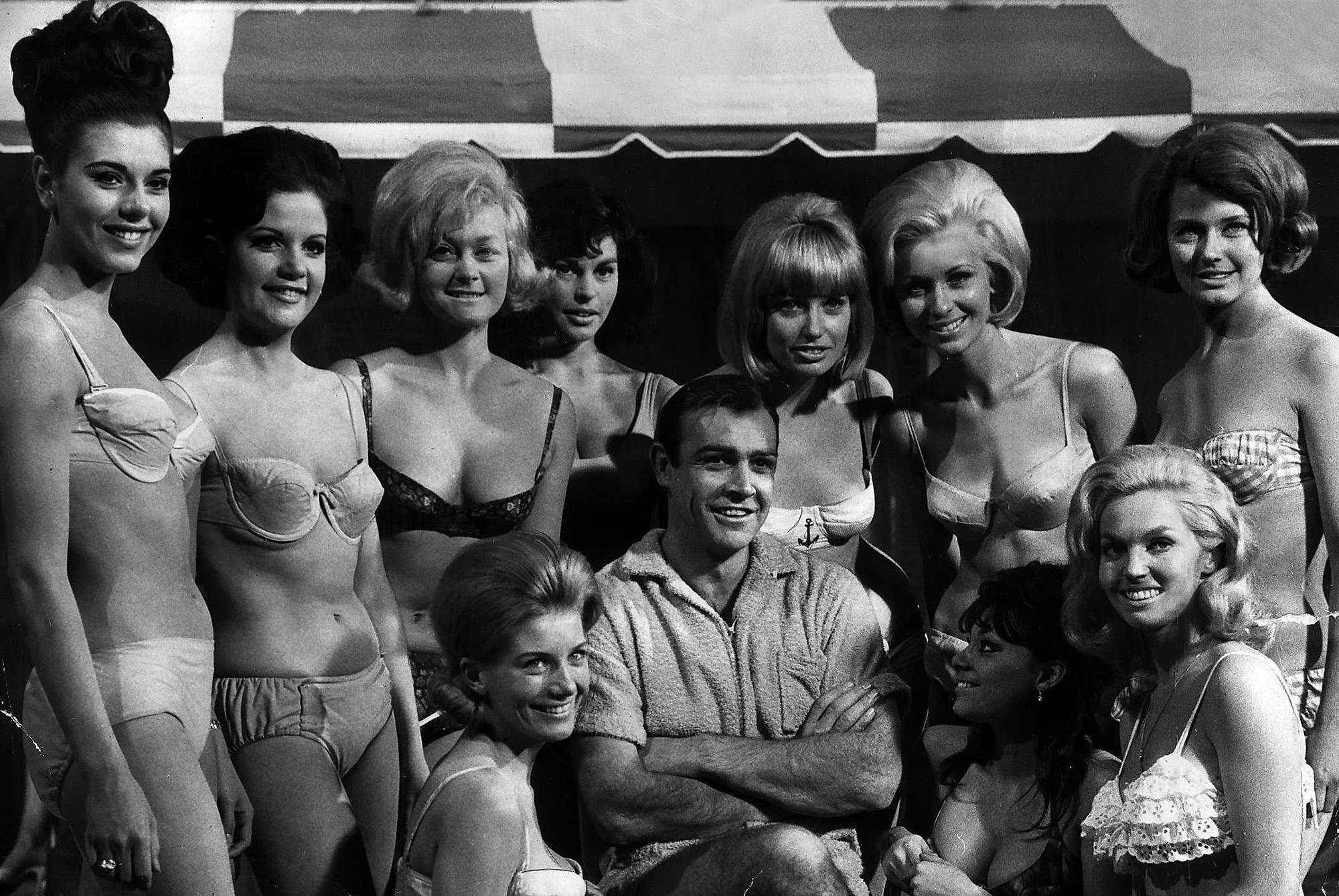 Sean Connery mint James Bond a hatvanas években