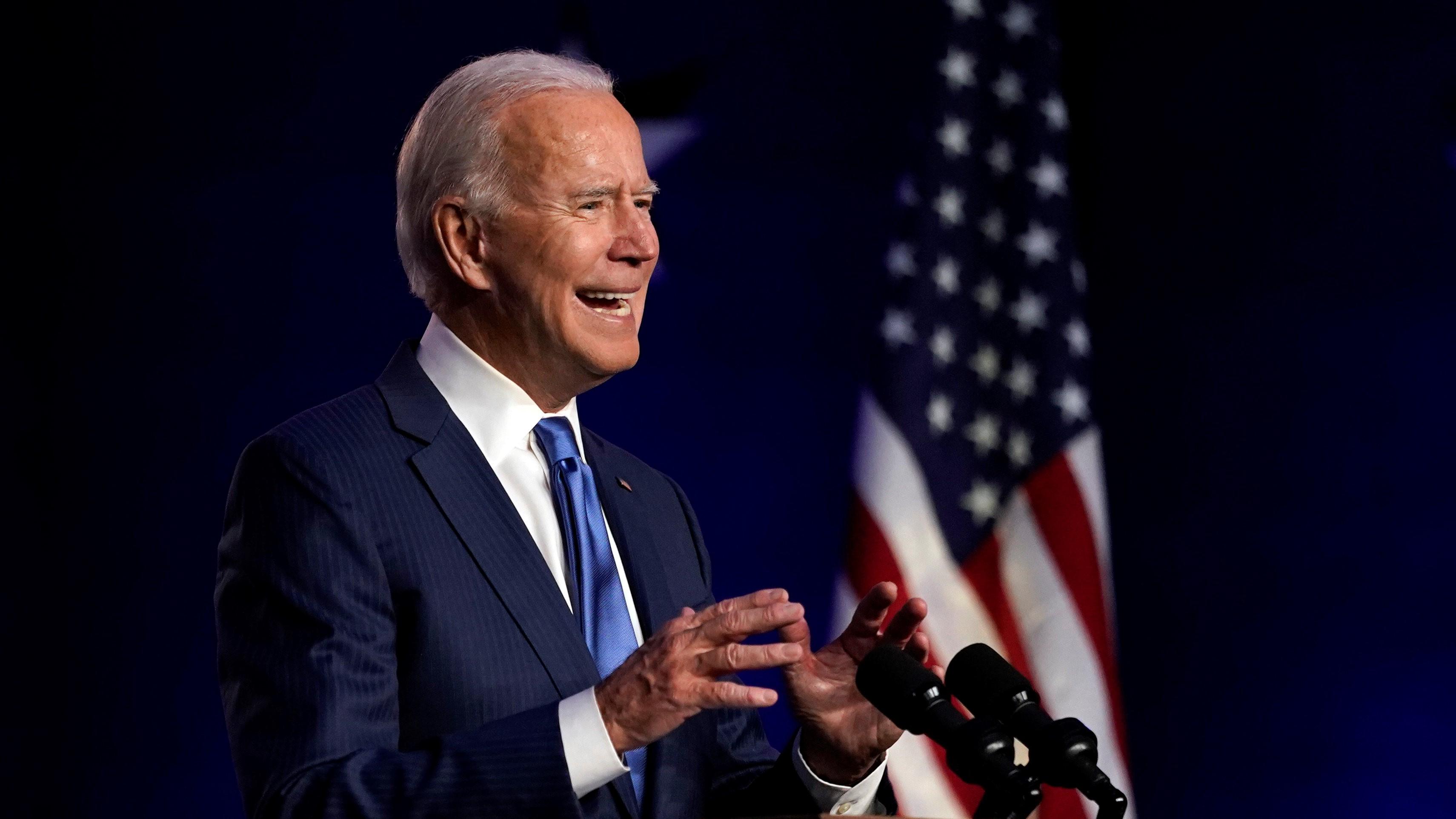 Joe Biden, az USA leendő elnöke