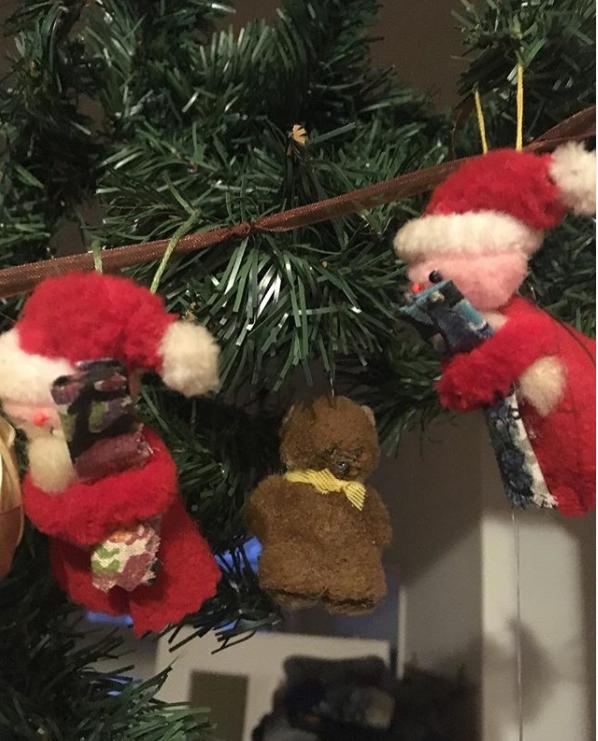 Karácsonyi régi díszek