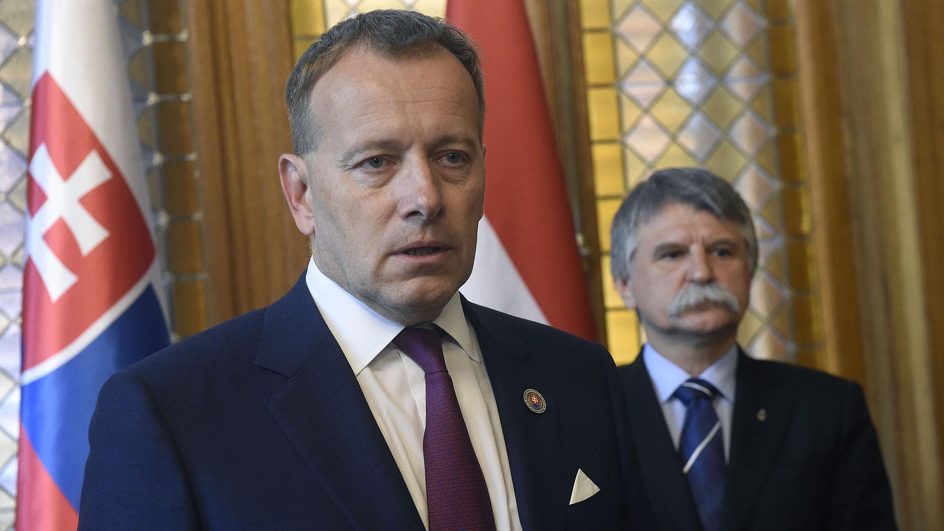 Boris Kollár szlovák házelnök