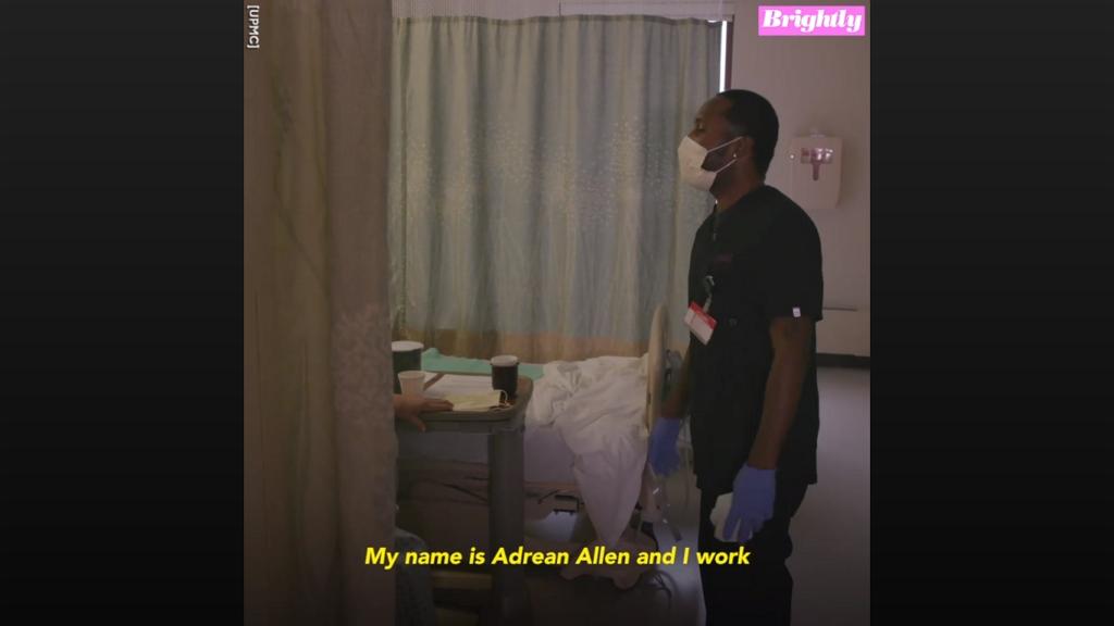 Felvidítja énekével a betegeket a kórházi takarító