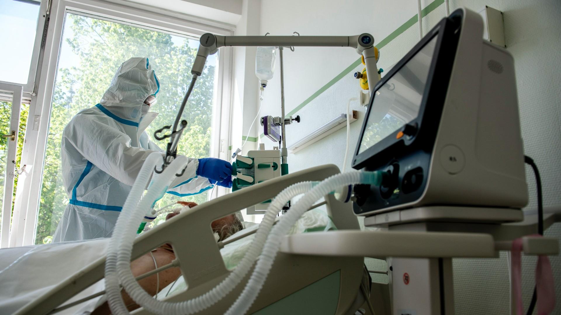Koronavírus lélegeztetőgép