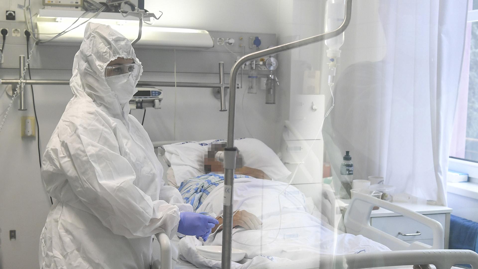 Koronavírusos beteg