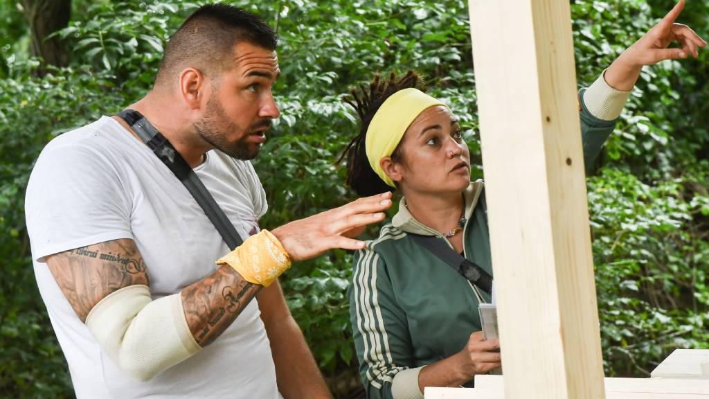 Kucsera Gábor és Terecskei Rita (Fotó: TV2)