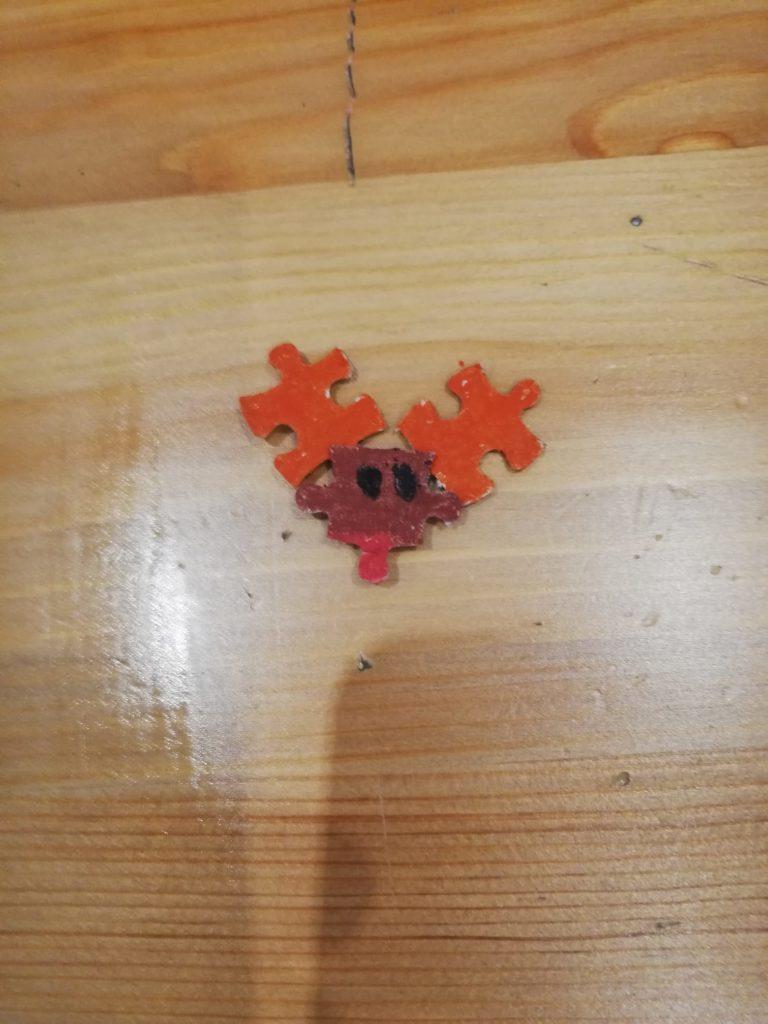 puzzle rénszarvas