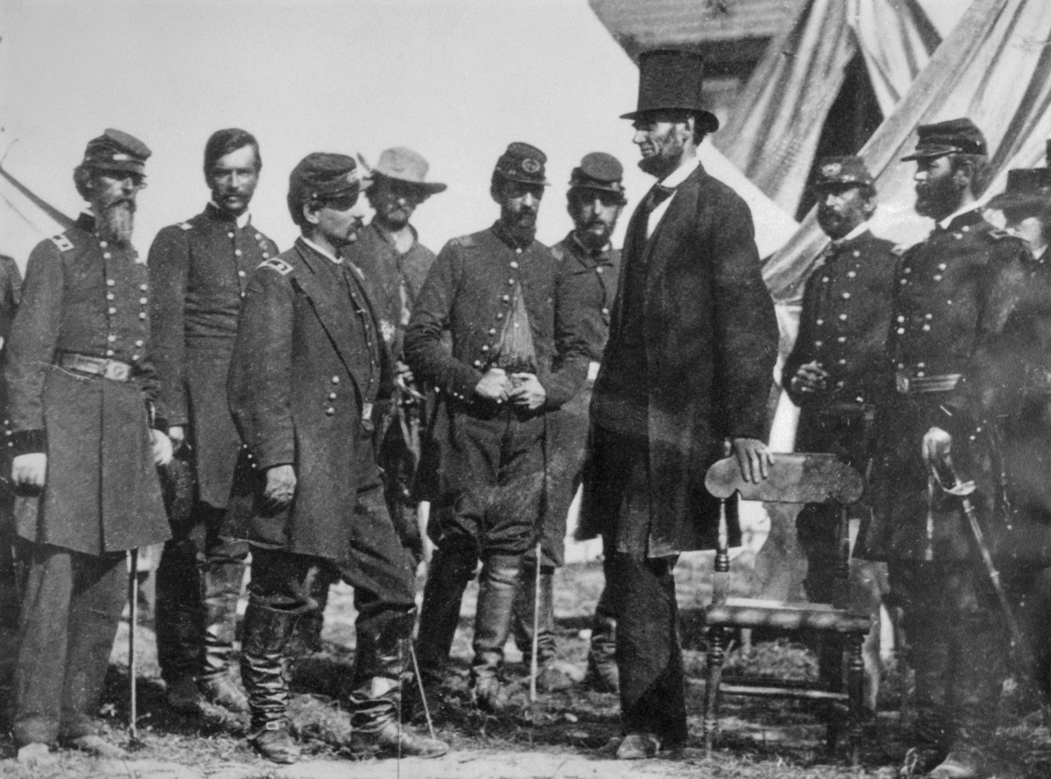 Abraham Lincoln, a langaléta elnök (fotó: Wikipedia)