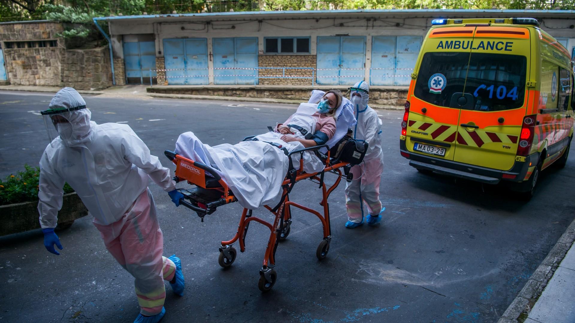 Koronavírus mentők