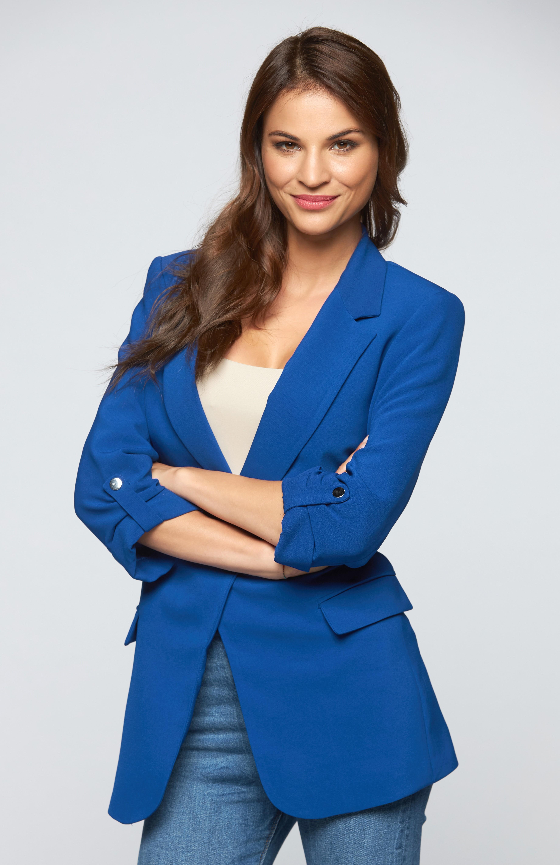 Nádai Anikó a Házasodna a gazda műsorvezetőjeként (Fotó: RTL Klub)