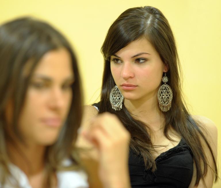 Nádai Anikó a szépségversenyen