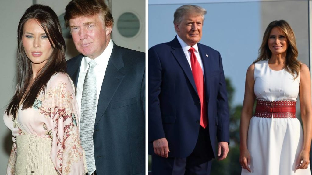 Melania és Donald Trump