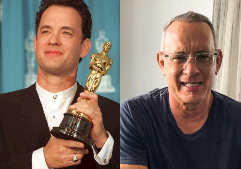 Tom Hanks akkor és most