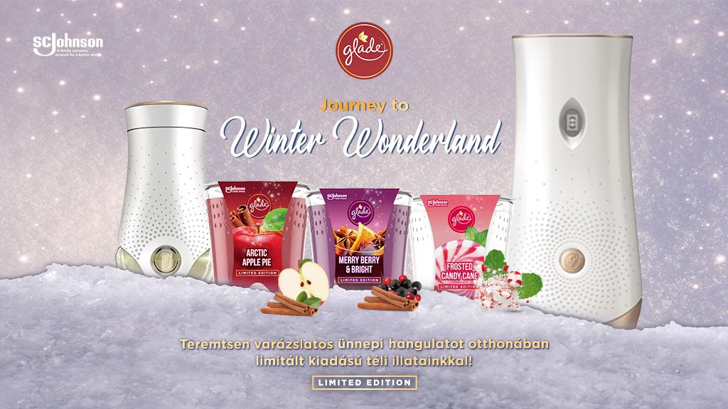 Glade® téli illatkollekció nyereményjáték nyeremény