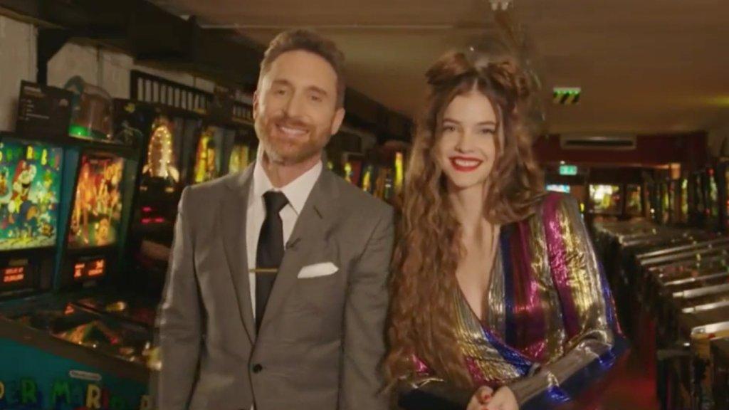 David Guetta és Palvin Barbara