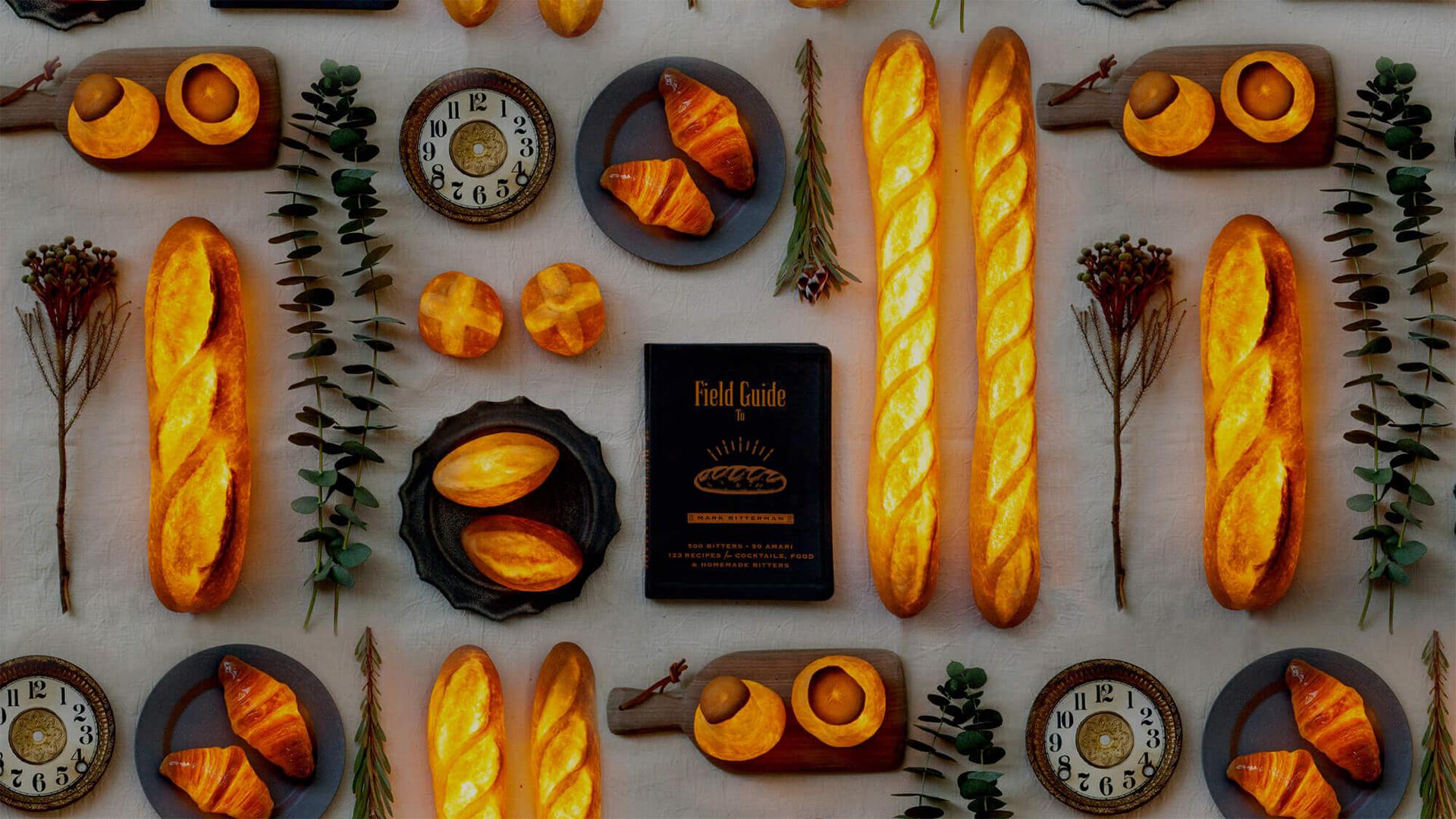 Megmaradt péksüteményekből csinál lámpákat egy japán designer