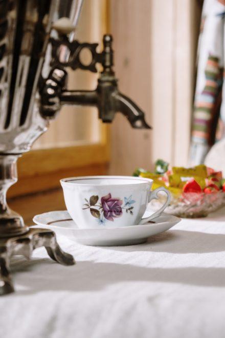 Az oroszok szamovárból isszák a teát