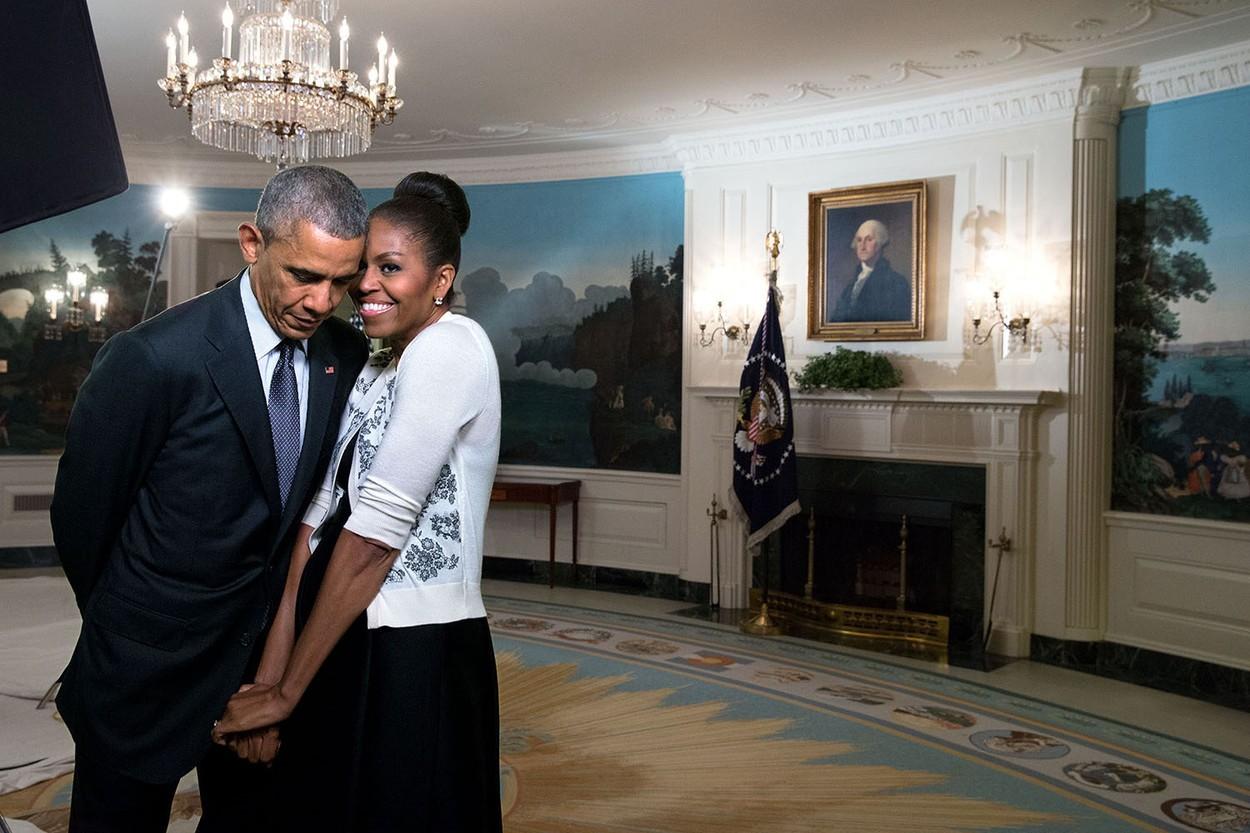 Michelle Obama és Barack Obama