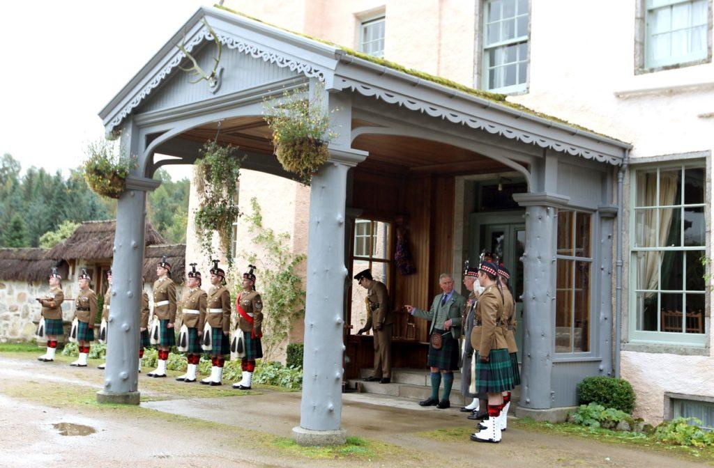 Károly herceg Skóciában