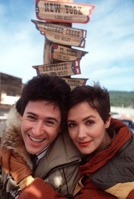 Filmbeli partnerével, Maggie-vel. Fotó: Profimédia