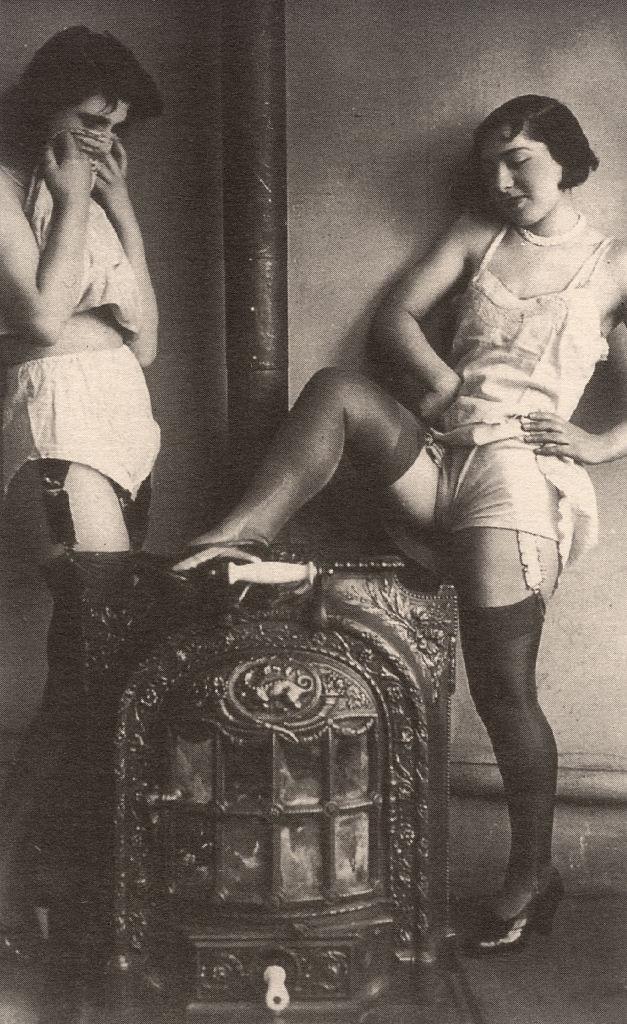A prostituáltak élete régen