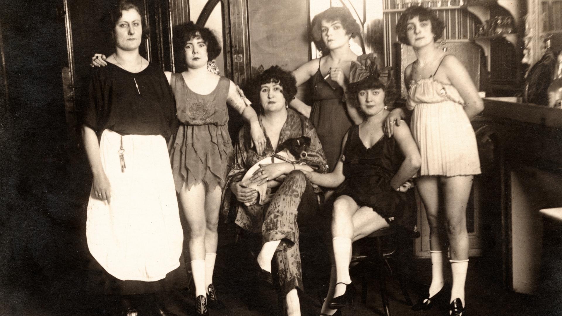 Régen a prostituáltak élete
