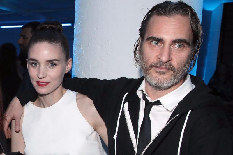 Rooney Mara és Joaquin Phoenix