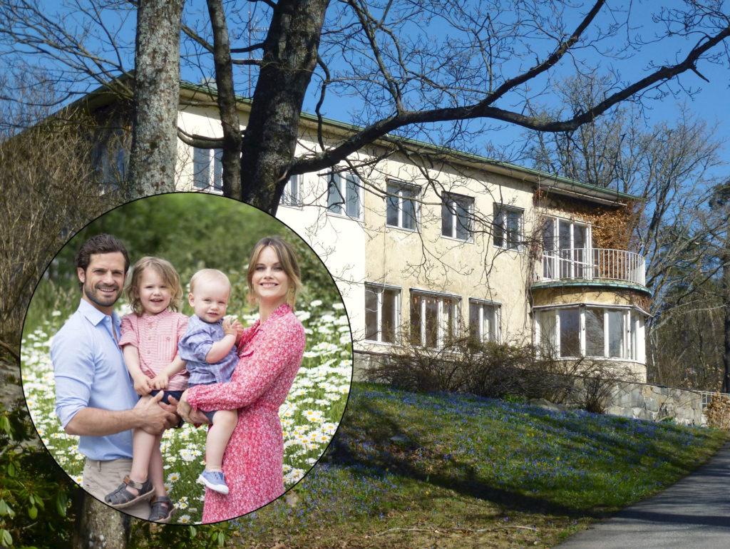 Károly Fülöp herceg és családja a Solbacken villában lakik