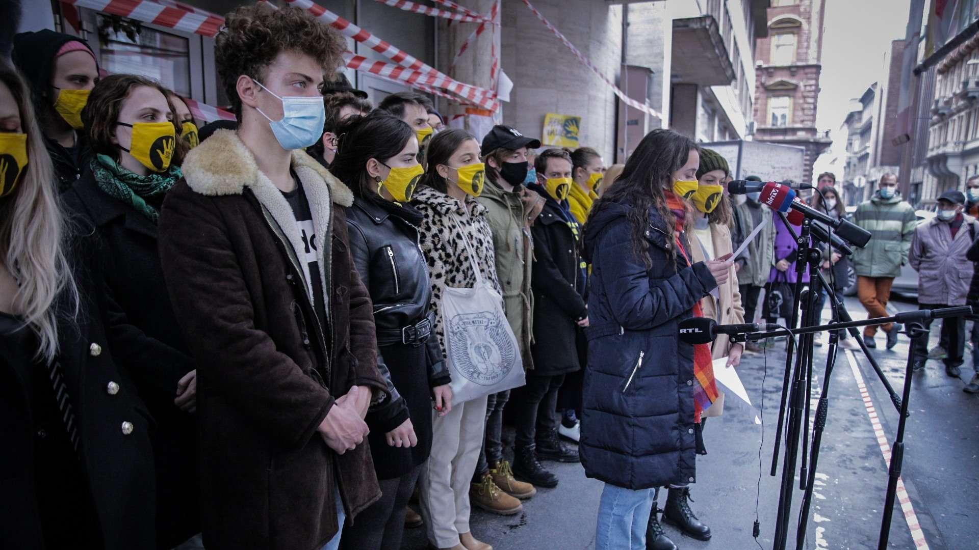 Hallgatói blokád a Színház- és Filmművészeti Egyetemen