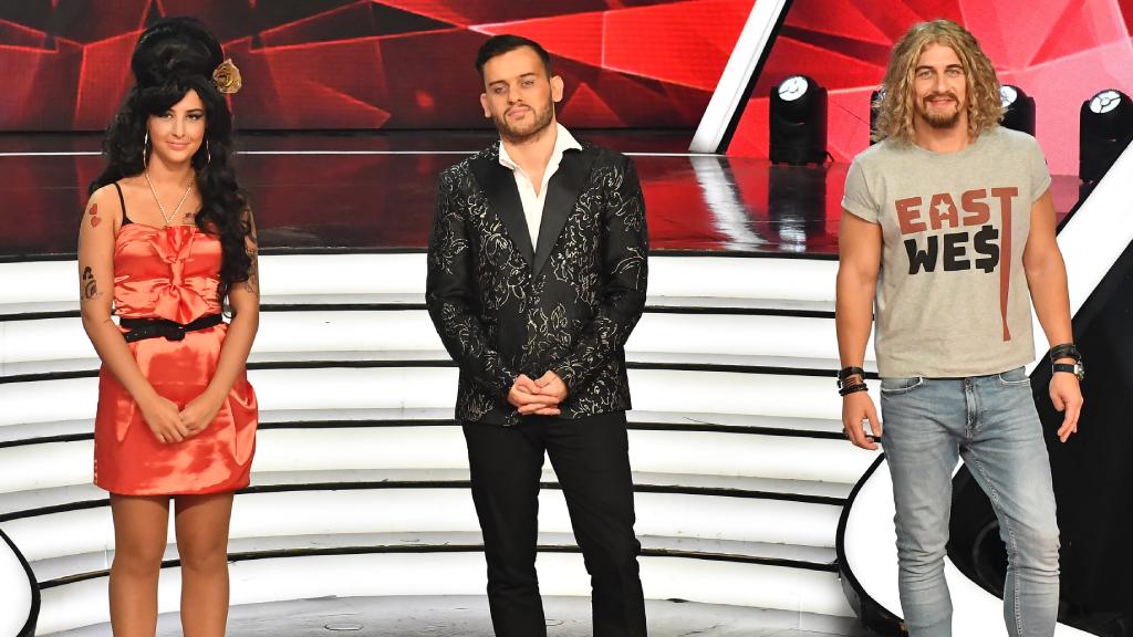 Tóth Andi, Szabó Ádám és Vastag Csaba a Sztárban Sztár 7 döntősei