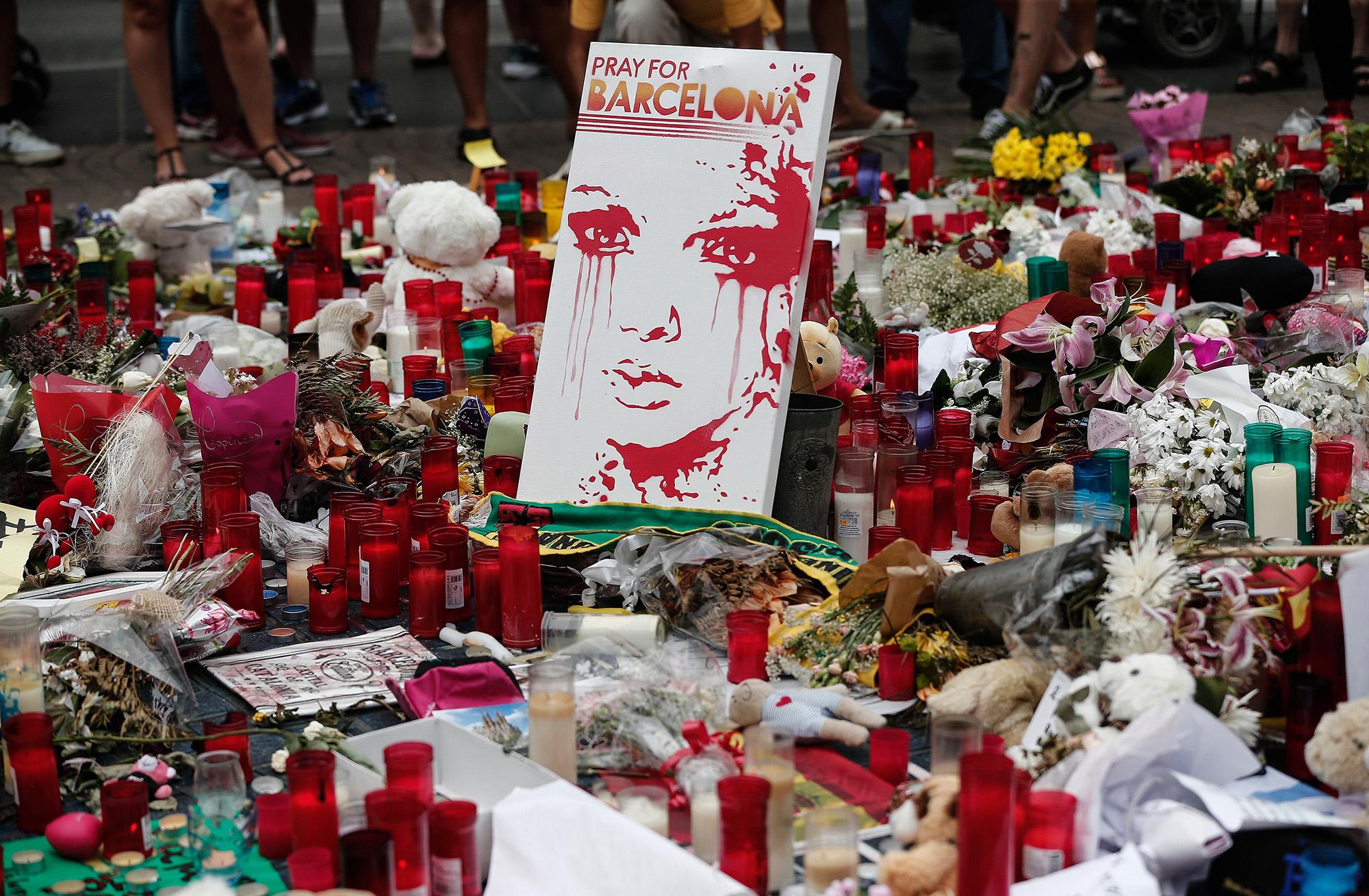 Barcelona, 2017 autusztus 19. (fotó: Burak Akbulut/Anadolu Agency/Getty Images)