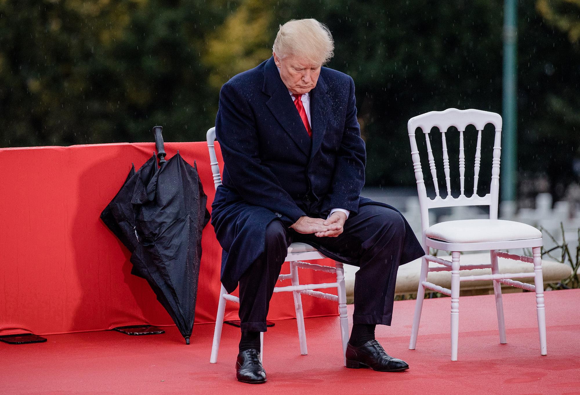 Donald Trump Párizsban 2018-ban