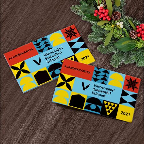 Városmajori Szabadtéri Színpad ajándékkártya