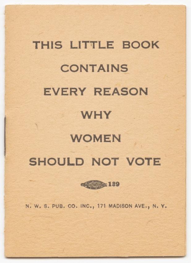Miért ne szavazzanak a nők? (fotó: publicdomainreview.org)
