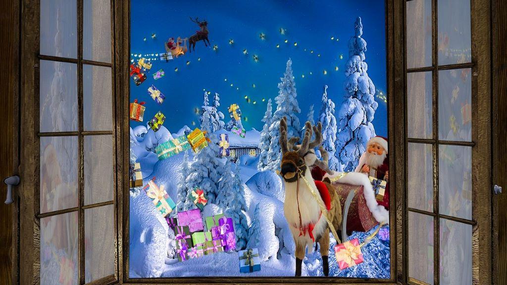 Ez az anyuka 7000 fontot költött a karácsonyi hangulatra
