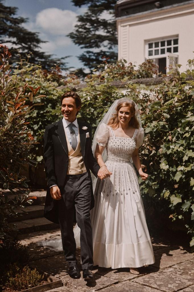 Beatrice hercegnő és Edoardo Mapelli Mozzi esküvője