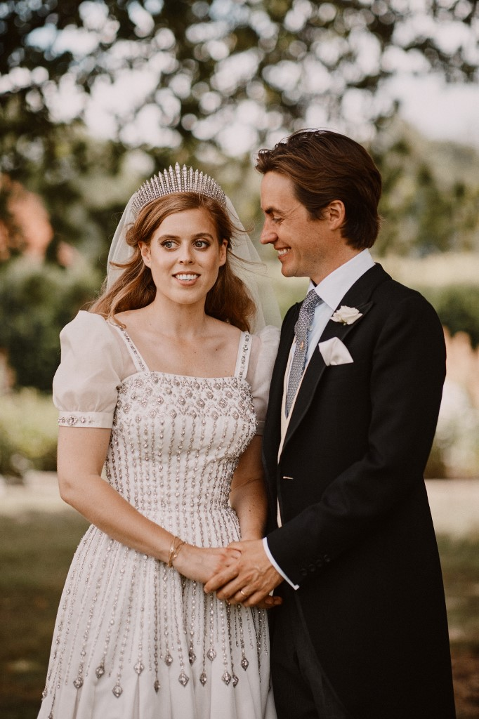 Beatrice hercegnő és Edoardo Mapelli Mozzi