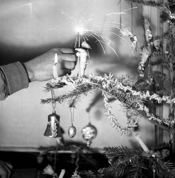 A csillagszóró alap volt minden karácsonyfán