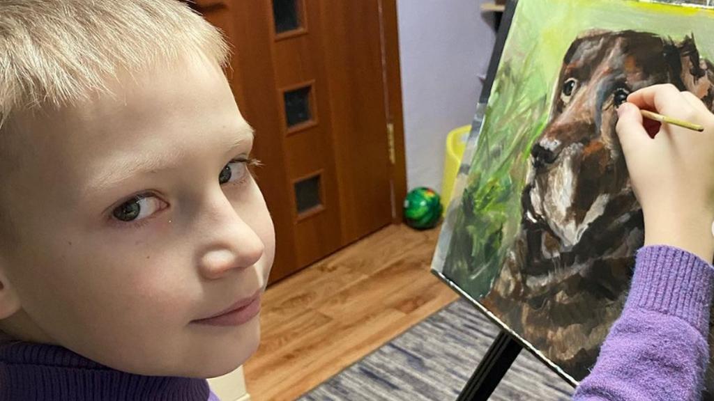 Pavel festményei