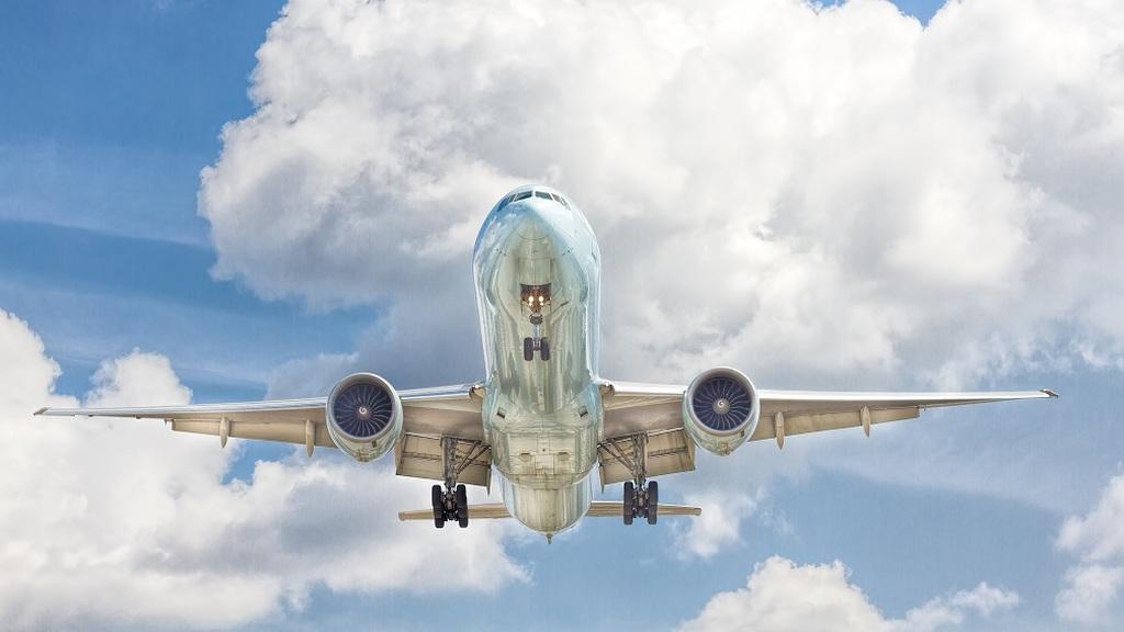 Furcsa jelenet a repülőn