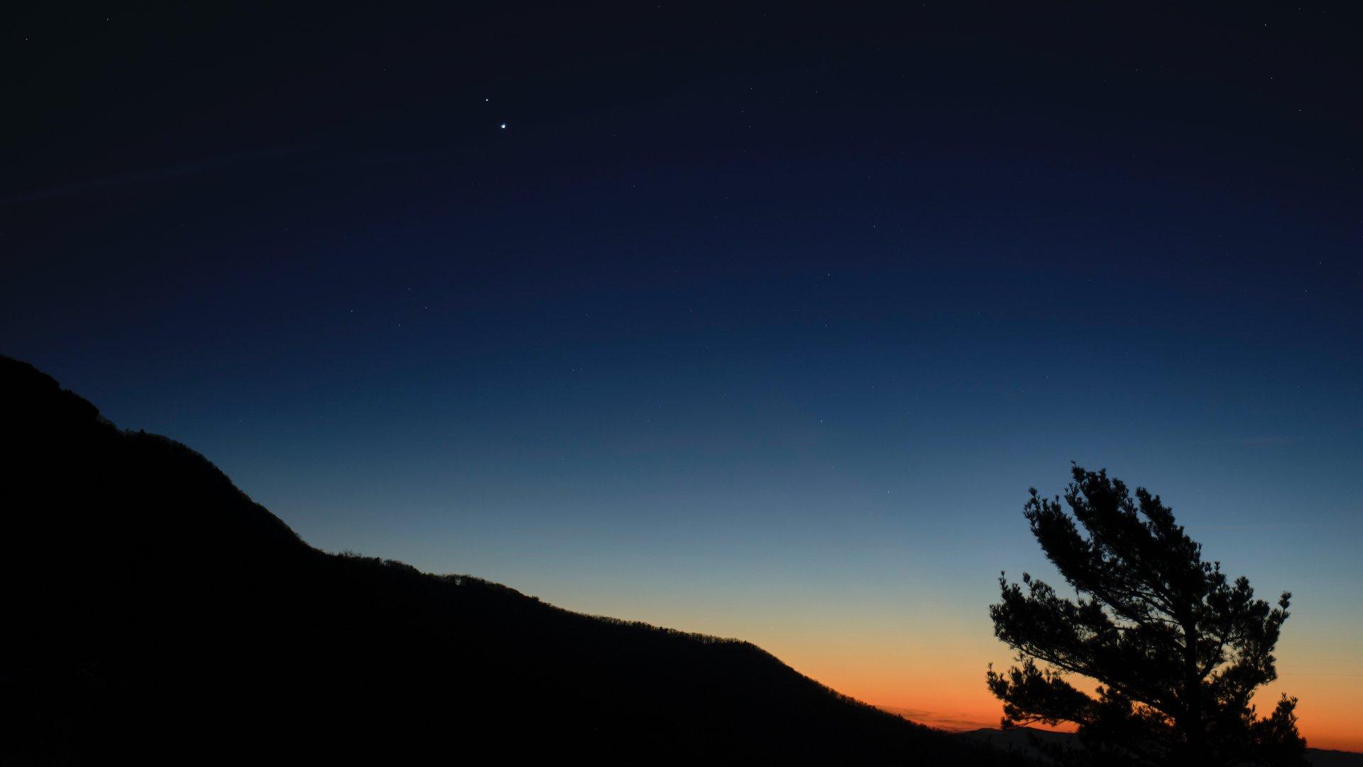 Betlehemi csillag az égbolton