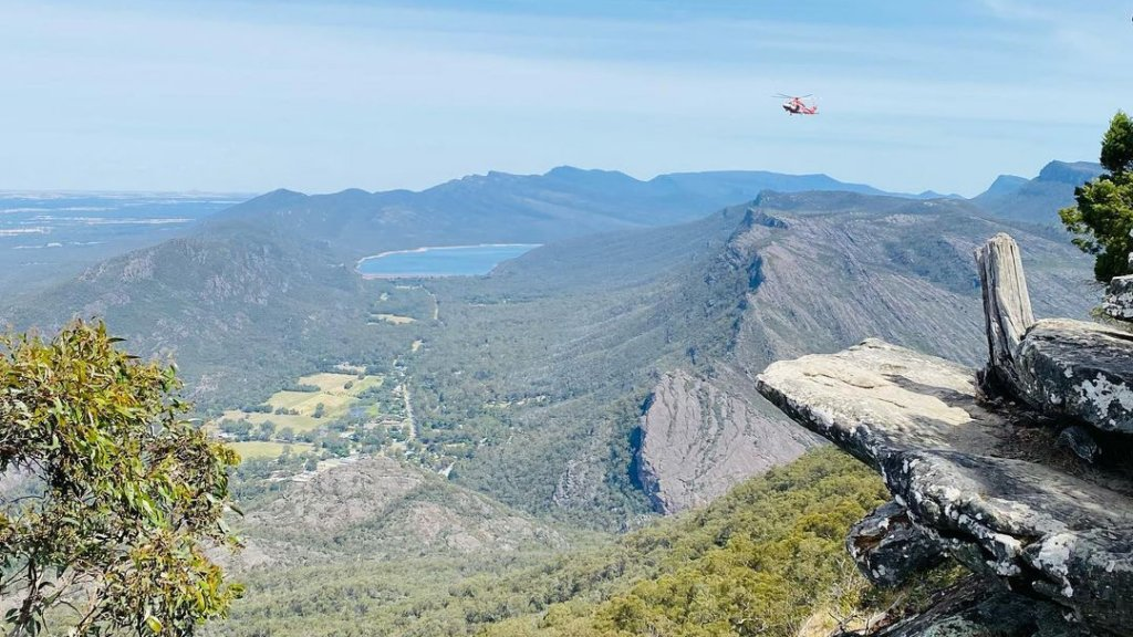 Boroka kilátó Ausztráliában