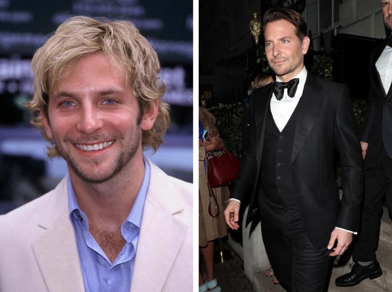 20 év alatt nem változott Bradley Cooper