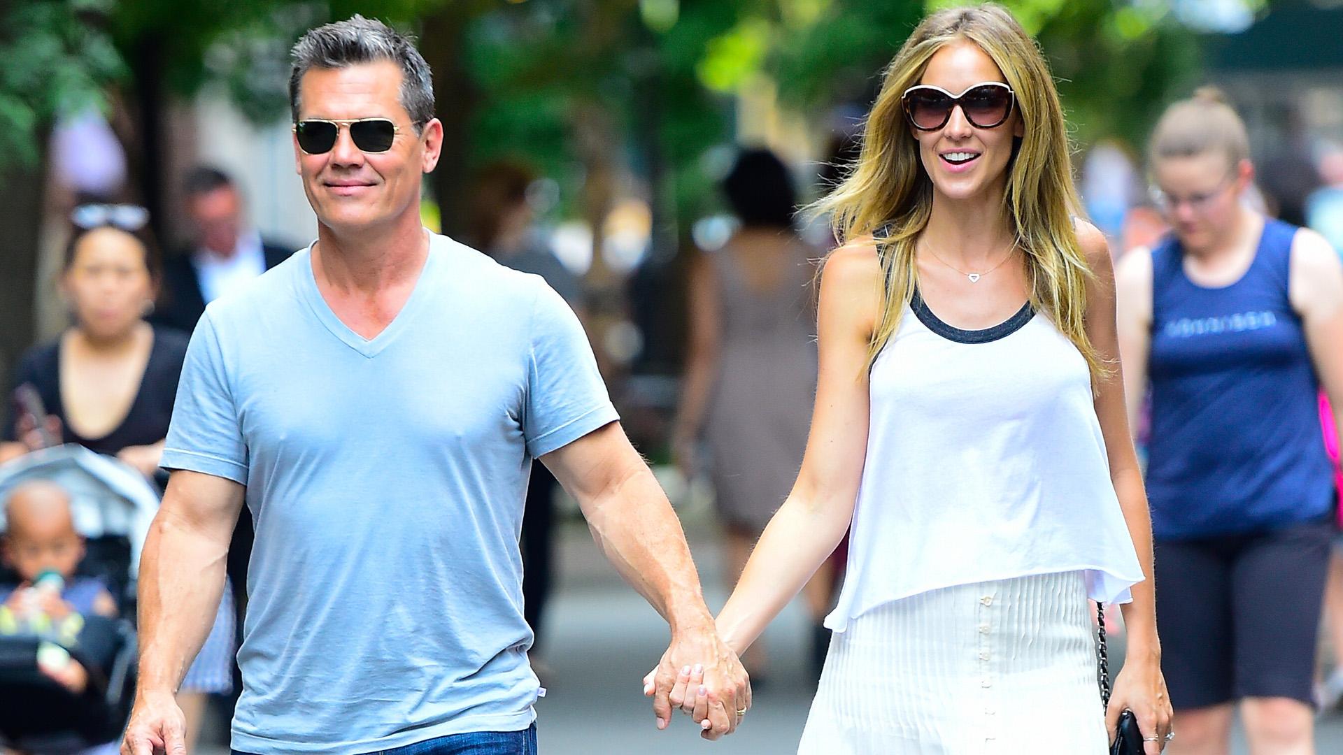 Josh Brolin és Kathryn Boyd New Yorkban
