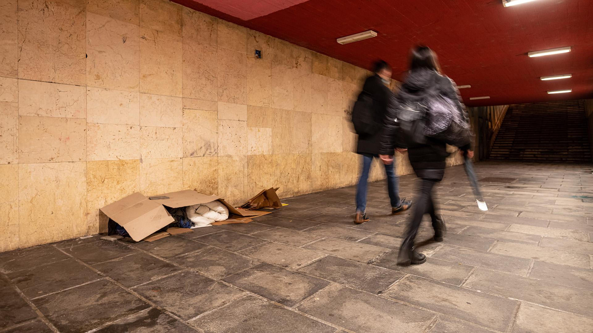 Hajléktalanság