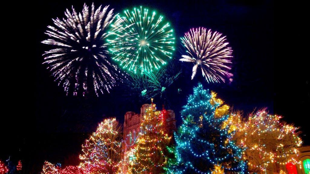 karácsonyi fények, adomány,