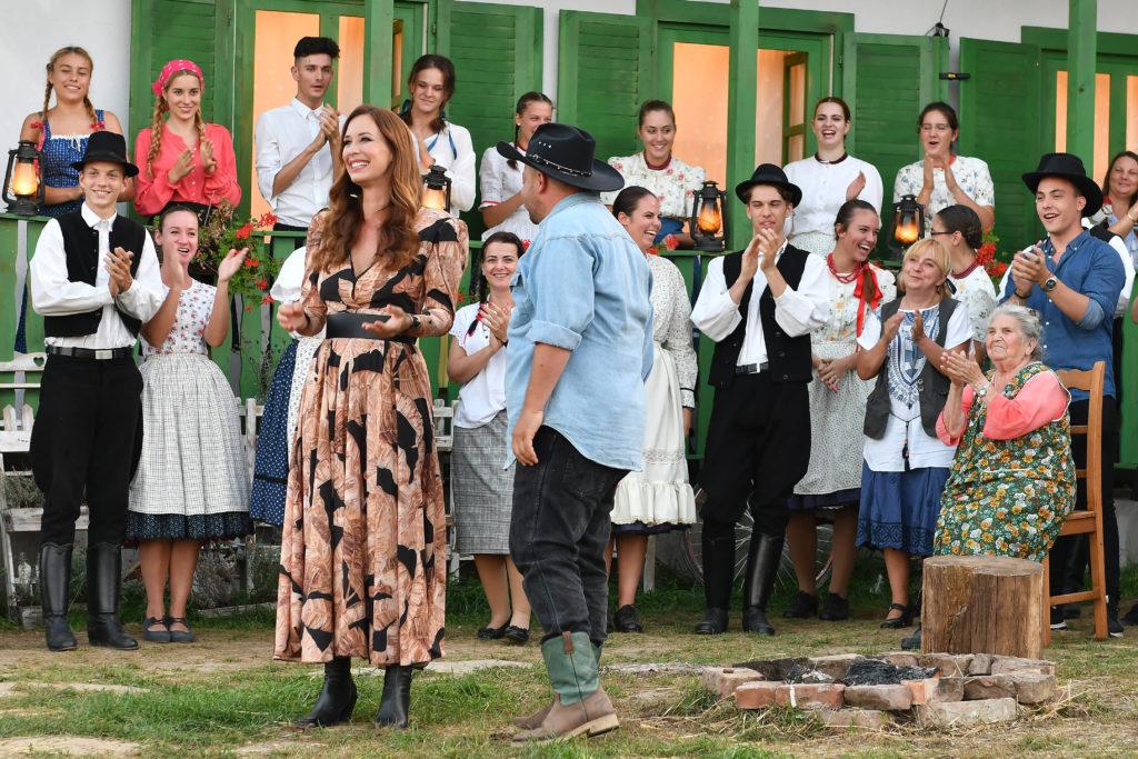 Demcsák Zsuzsa a Farm VIP döntőjén