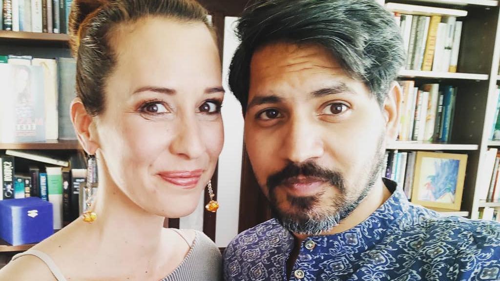 Demcsák Zsuzsa és férje, Krishan Dangwal nagyon boldogok (Fotó: Instagram)