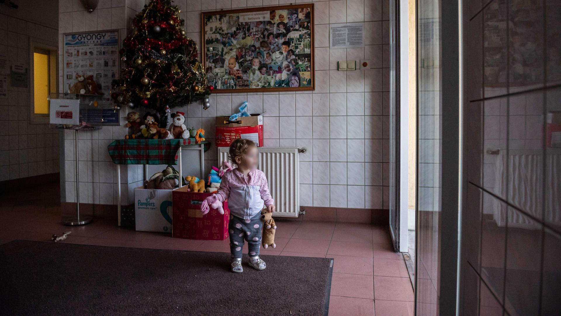 Így telik a Karácsony egy gyerekkórházban