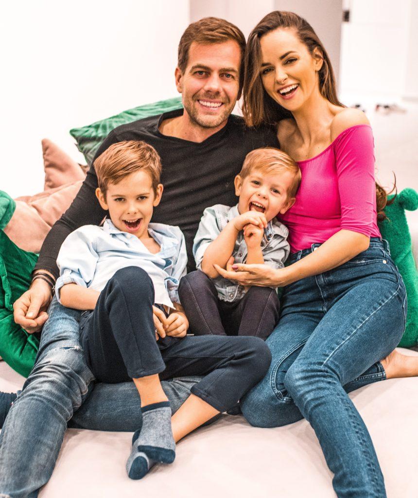 Dobó Ági és családja (Fotó: Dobó Ági)