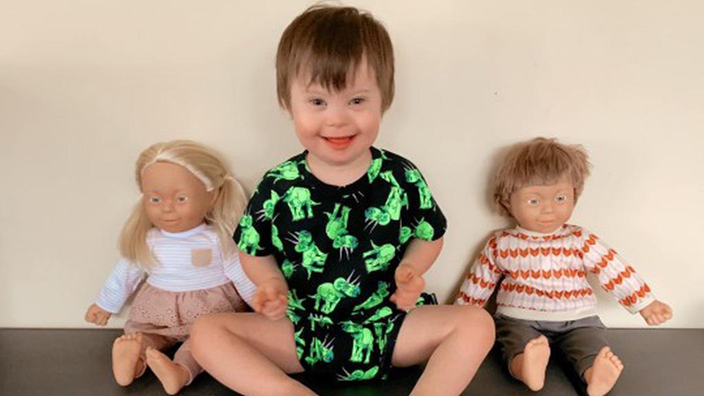 Down-szindrómás babák